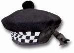 BALMORAL-HAT-WITH-BLACK/WHITE-DICED