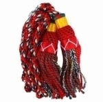 Royal--Stewart--Bagpipe-Silk-Cord,6-Color-Cords-Matches