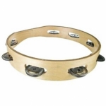 WOODEN-TAMBOURINES-10-INCHES-8-PAIRS-JINGLES