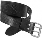 UTILITY-KILT-BELT-EMBOSSED-WITH-CELTIC-KNOT-DESIGN