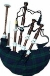 Rosewood-Bagpipe-Full-size-Natural-Finish-Rosewood-Gloss-Finish-Ivory-Color-Sole,