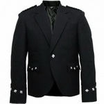 Black-Highland-Scottish-Argyll-Jacket-For-Kilt