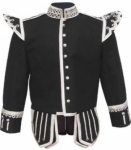 Black-Highland-Doublet-Silver-Piping-Silver-Thistle-Buttons