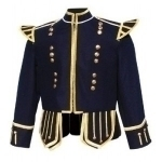 Navy-Blue-Highland-Doublet-Gold-Piping-Gold-Thistle-Buttons